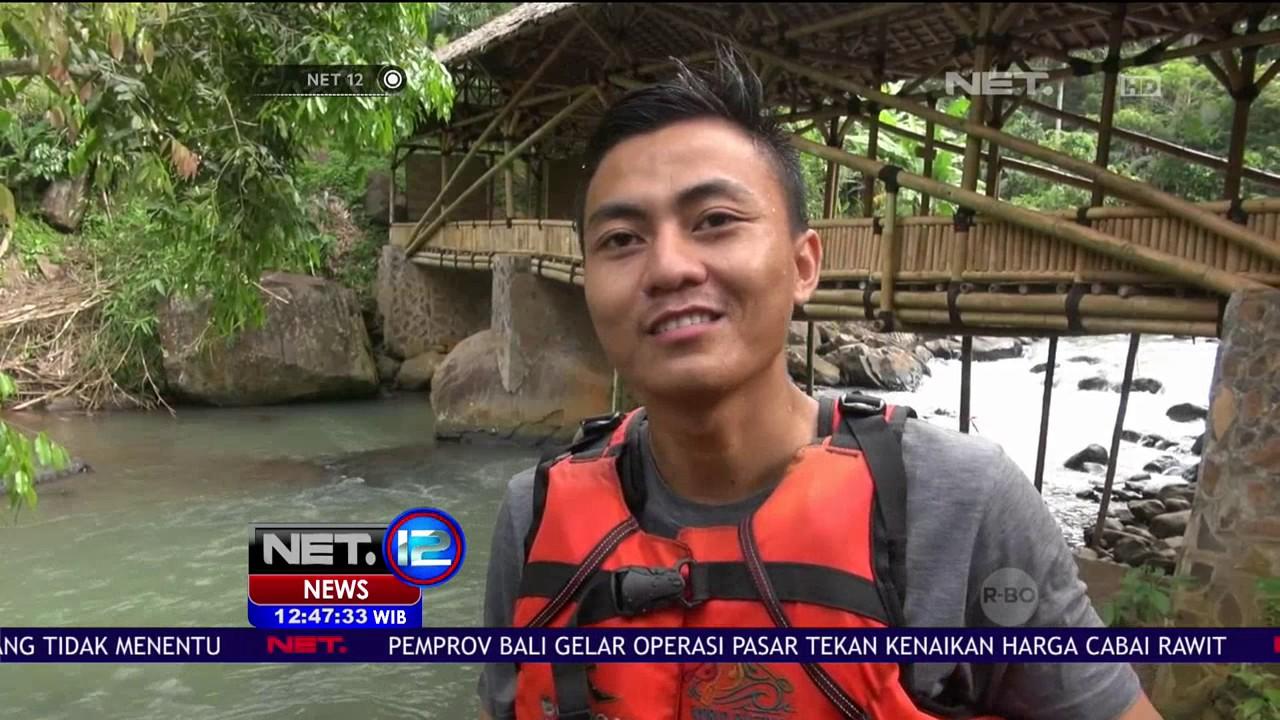 Serunya Sensasi Tubing Di Sungai Cikalumpang Banten Net 12 Youtube