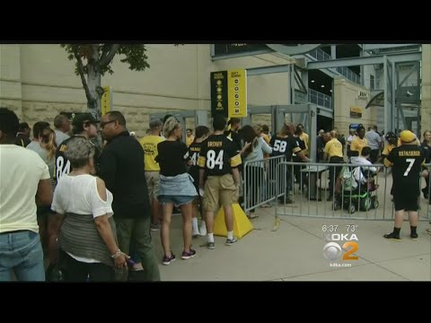 Steelers Fans Flock To Heinz Field For Open Training Camp Practice
