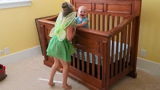 TINKER BELL makes BABY LAUGH