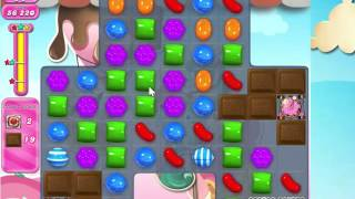 Candy Crush Saga Level 1614 with 8 moves left,  NO BOOSTERS!