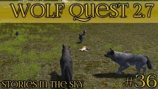 Luck on the Long Journey!! 🐺 Wolf Quest 2.7 - Stories in the Sky 🐺 Episode #36