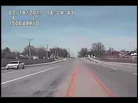Tulsa Police Run Over Suspect During Chase