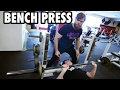 Teen Beginners Bodybuilding Training - BENCH PRESS