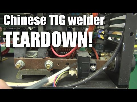 Chinese 200A TIG welder teardown
