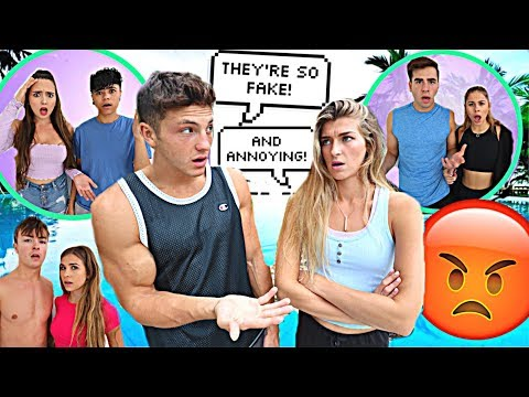 BEING MEAN To Other Youtubers To See How They React...