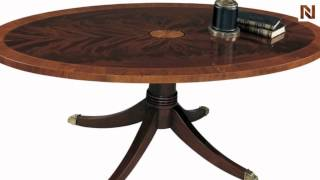 Hekman Oval Coffee Table 5-169