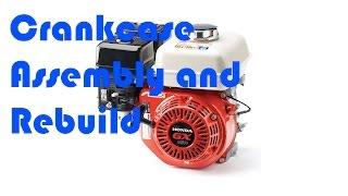 honda gx160 crankcase rebuild assembly