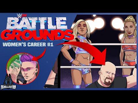WWE 2K Battlegrounds: Women's Career Mode #1 #WWE2KBattlegrounds