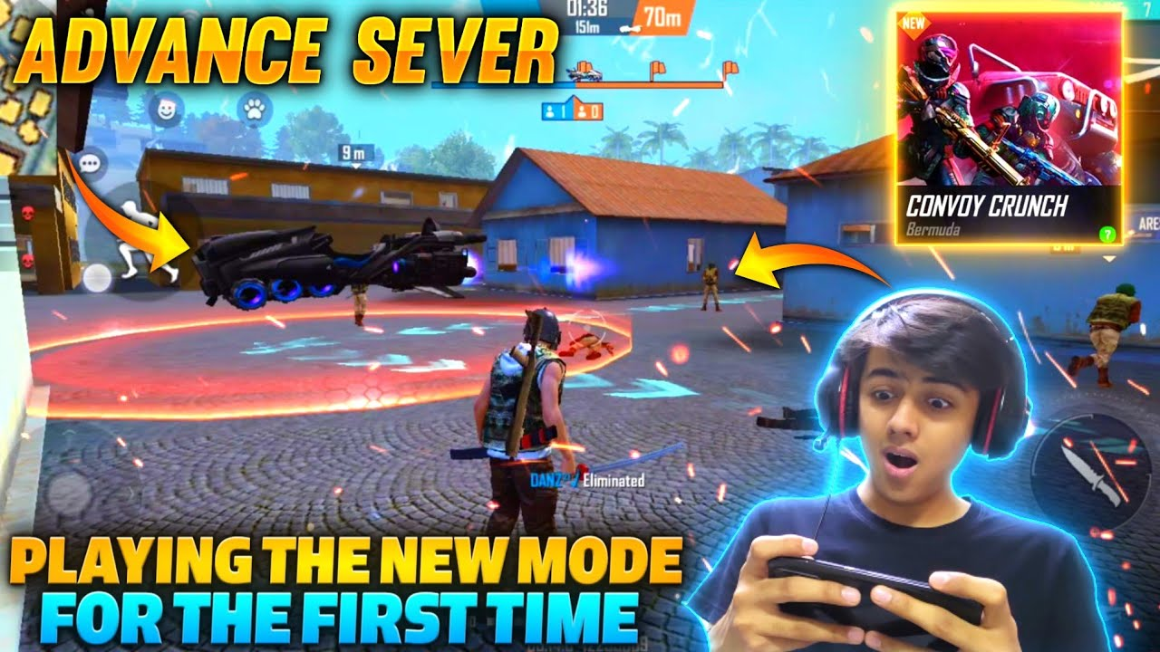Download Free Fire    Playing The New Free Fire Mode For The First Time😍    Advance Server   
