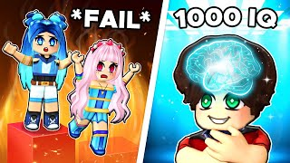 You need 1,000 IQ to play this Roblox Game...