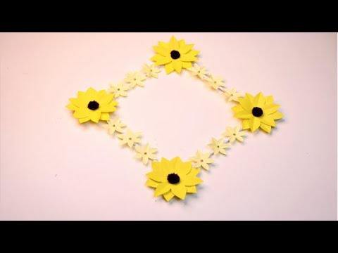 Sunflower Wall Hanging Ideas Diy Sunflower Wall And Room Decoration Ideas For All