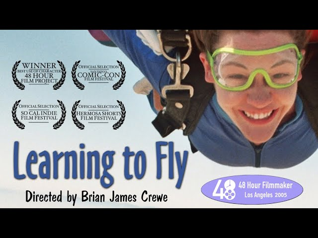 LEARNING TO FLY - a 48 Hour Film Project by Film Crewe starring Marion Kerr & Natalie Plant