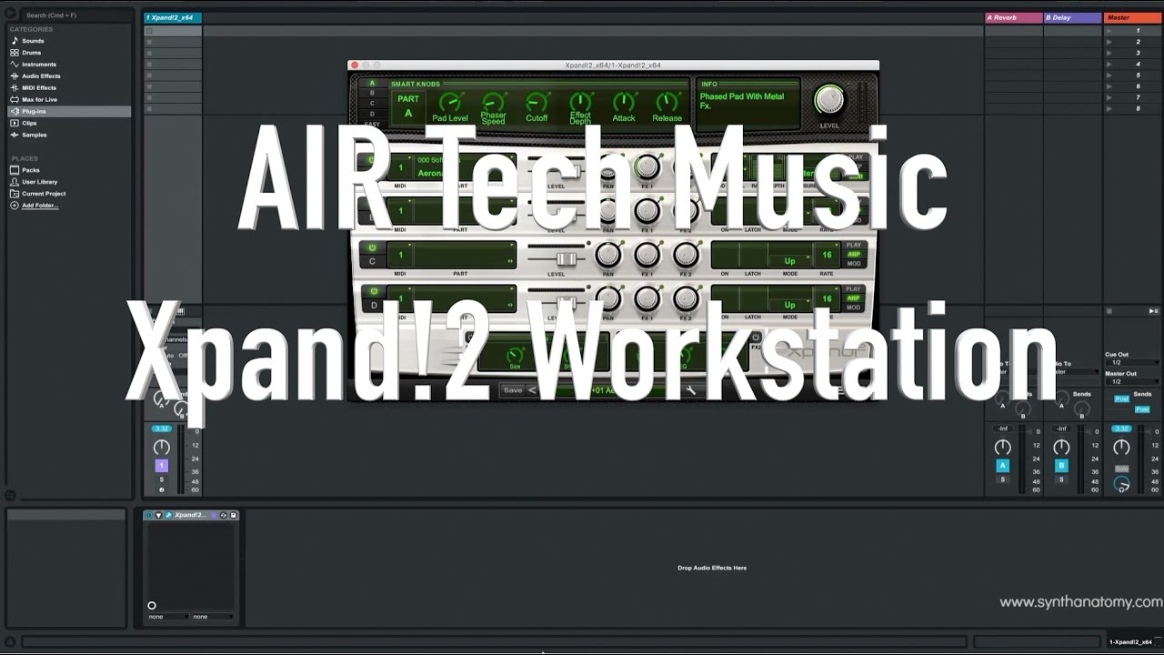 Grab For Free The Air Music Tech Xpand!2 Multi Timbral