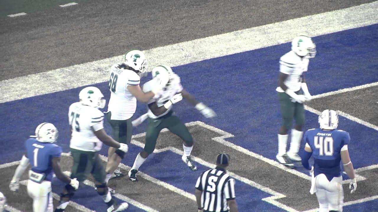 2289cabbd Tulane Football vs. Tulsa Highlights - YouTube