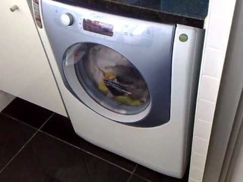 Problema na mquina de lavar e secar  Ariston Aqualtis