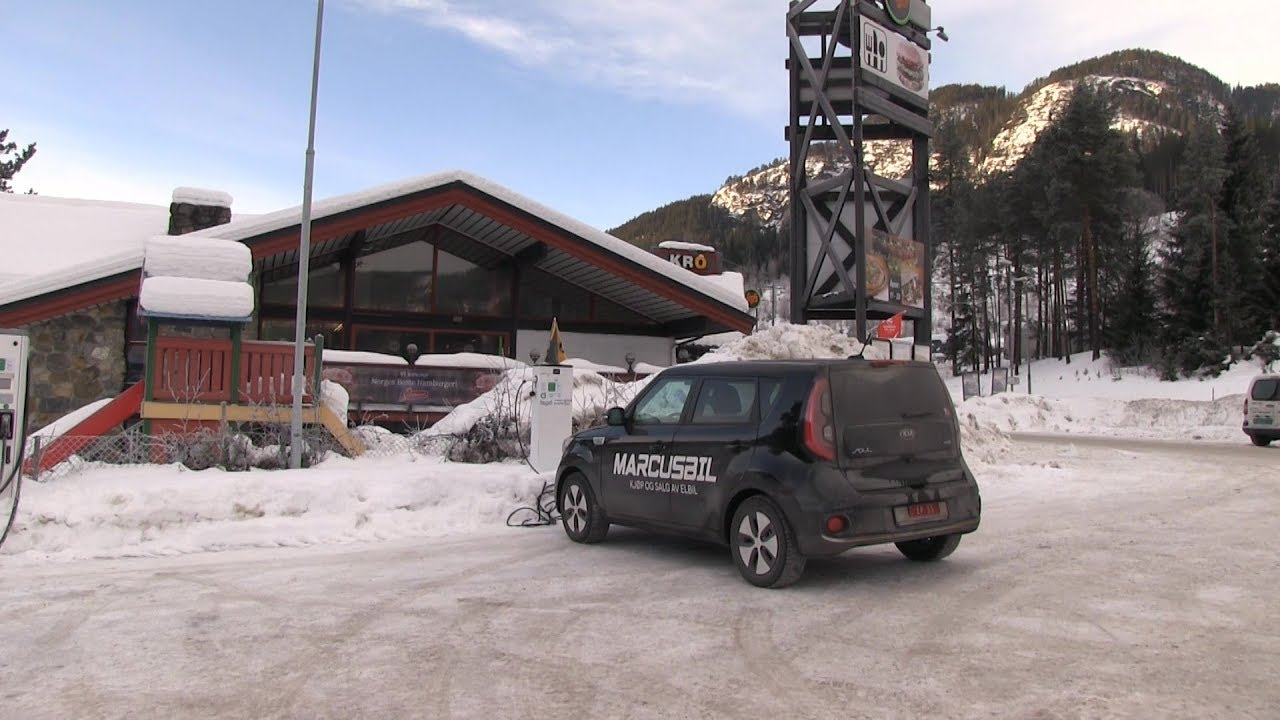 Kia Soul EV 30 KWh Winter Range Test