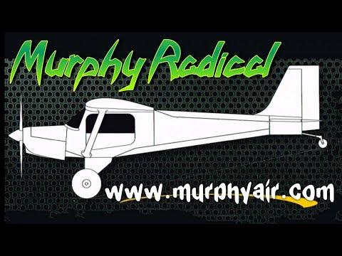 Murphy Radical, Murphy Radical all metal experimental aircraft by Murphy Aircraft.