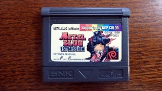 Metal Slug 1st Mission - Complete Video Game Soundtrack (Neo-Geo Pocket Color, 1999)