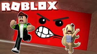 ANGRY WALL WAS US AND WENT / ROBLOX Speeding Wall
