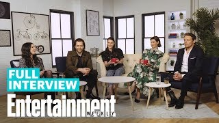'Outlander' Roundtable: Sam Heughan, Caitriona Balfe & More   Entertainment Weekly