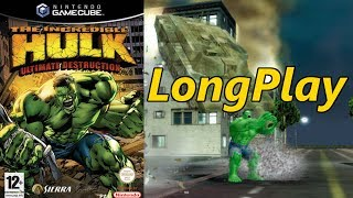 The Incredible Hulk: Ultimate Destruction -  Longplay Full Game Walkthrough (No Commentary)