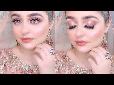 Engagement Makeup & Outfit 2020 | Step by Step Guide | URDU/HINDI by Farah Haris