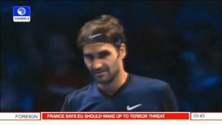 Sports This Morning: ATP World Tour Finals -- 20/11/15 Pt 5