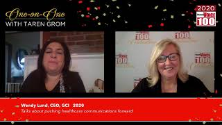 Wendy Lund, GCI – 2020 PharmaVOICE 100 Celebration