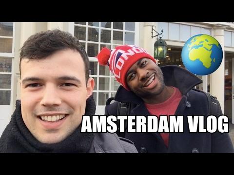 AMSTERDAM! Gay Couple Vlog