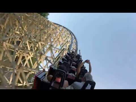 Lightning Rod GoPro Ride at Dollywood June 2016