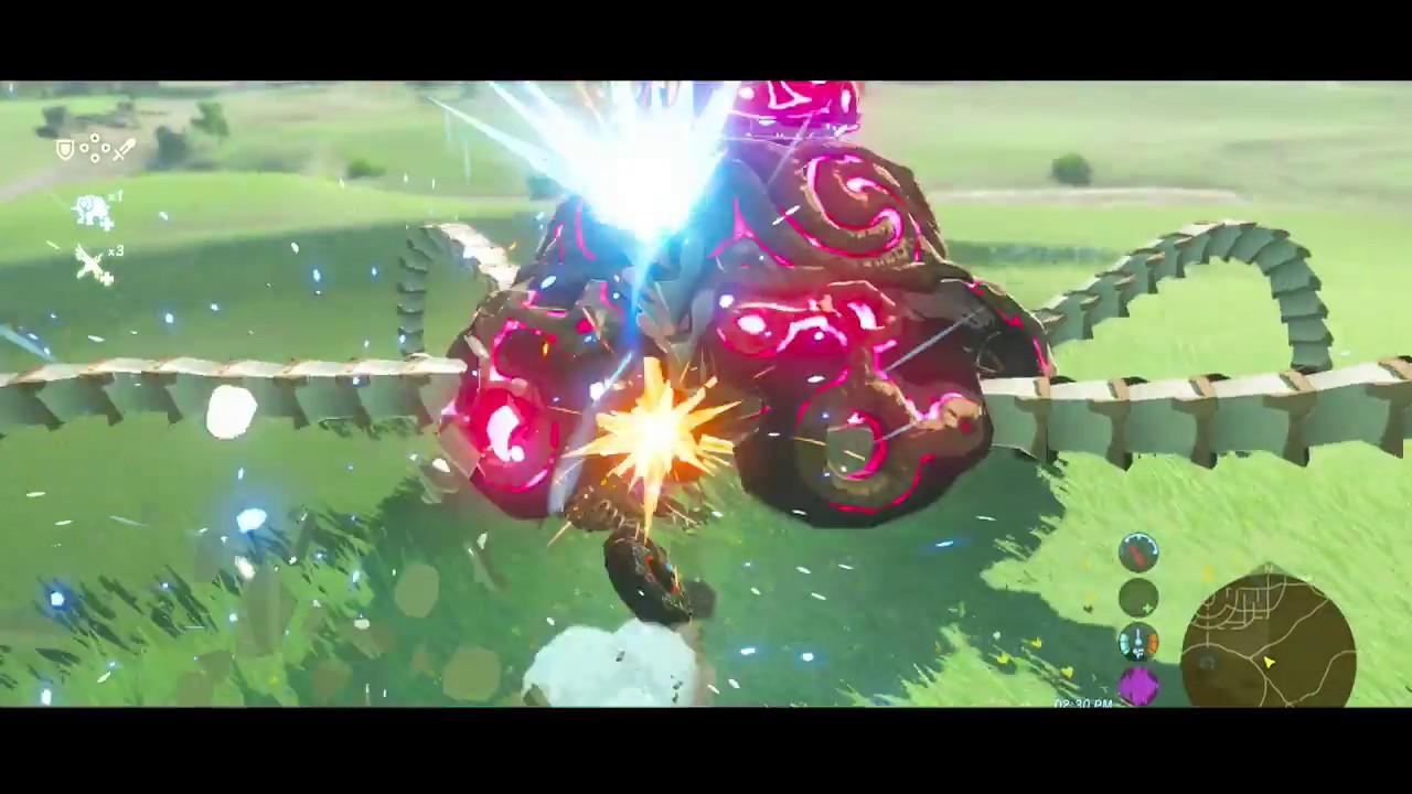 Zelda Breath Of The Wild Master Cycle: Zelda: Breath Of The Wild *Master Cycle Zero In Action