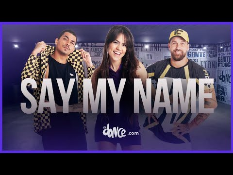 Say My Name - David Guetta ft. Bebe Rexha, J Balvin | FitDance Life (Coreografía) Dance Video