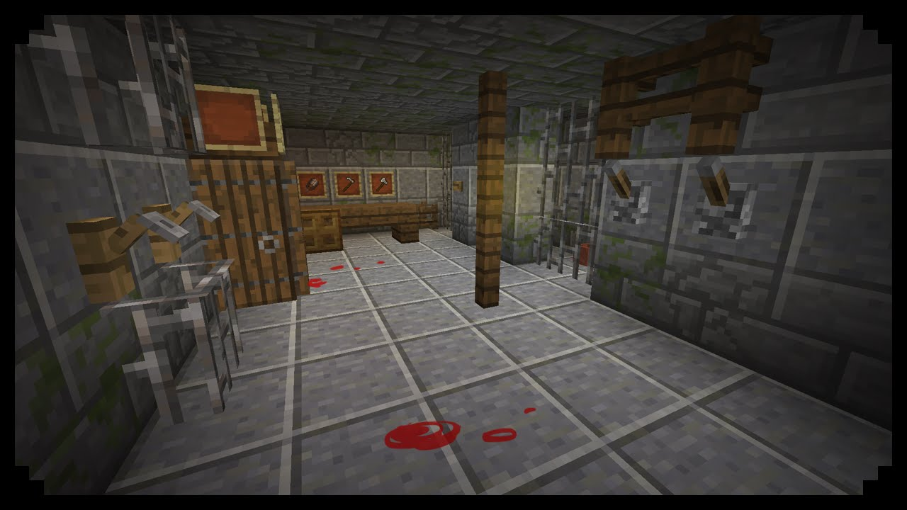 Minecraft How To Make A Torture Chamber Youtube