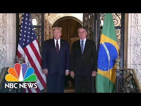 White House Announces Travel Ban For Brazil, New Coronavirus Hot Spot | NBC News
