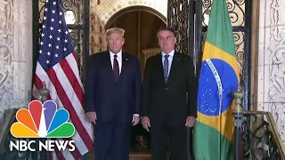 white-house-announces-travel-ban-brazil-coronavirus-hot-spot-nbc-news