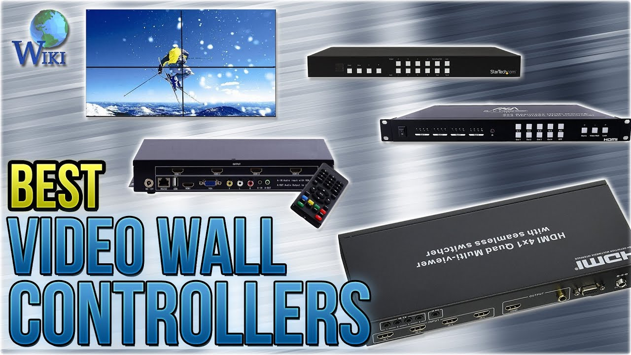 7 Best Video Wall Controllers 2017