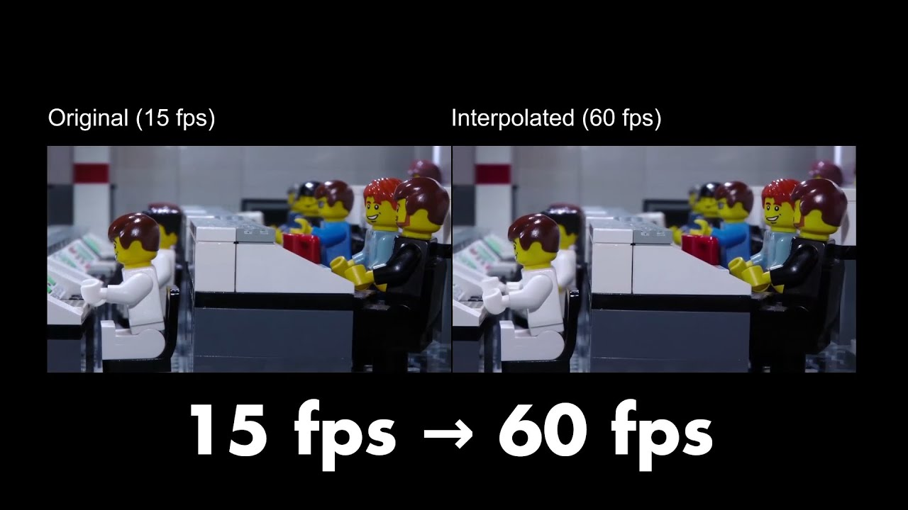 Boosting Stop-Motion to 60 fps using AI