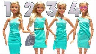 Wie man Barbie-Kleidung anfertigt – Puppenkleidung ohne Nähen und Kleben 👗😍