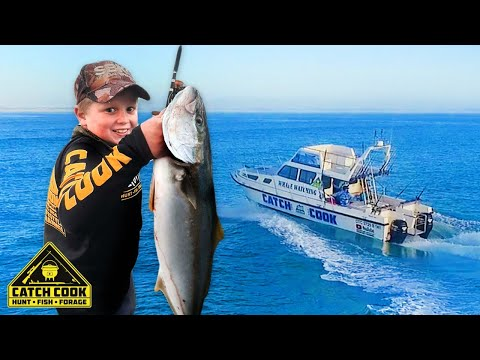Catch Cook Kids learn to fish and fillet fish, Struisbaai [CATCH COOK]