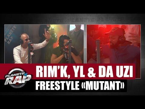 Rim'K, YL & DA Uzi - Freestyle 'Mutant' #PlanèteRap