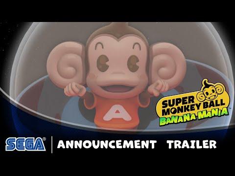 Super Monkey Ball Banana Mania | Announce Trailer