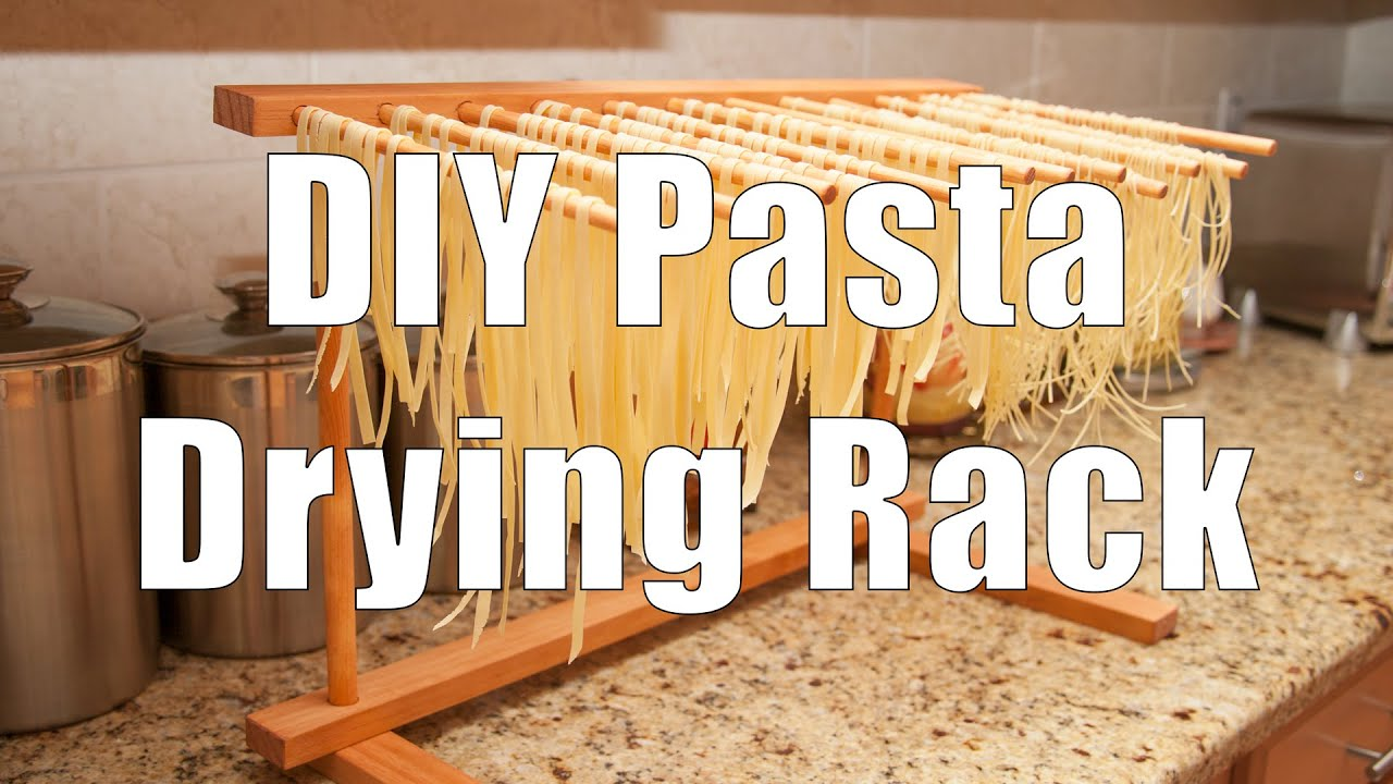 Do It Yourself Diy Pasta Drying Rack Using Basic Hand Tools You