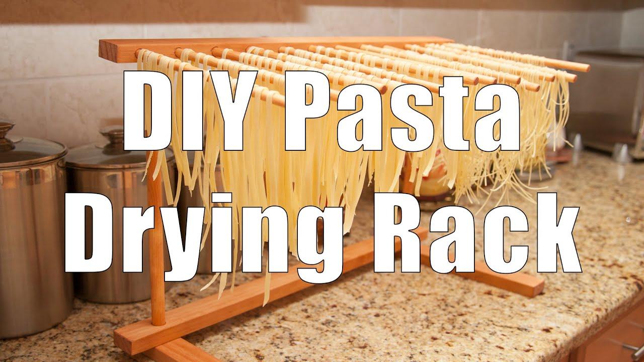 Do It Yourself Diy Pasta Drying Rack Using Basic Hand