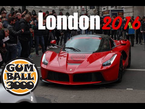 Gumball 3000 - LONDON ARRIVAL 2016