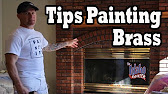 paint brass fireplace doors. 8 29 How to Update Fireplace Brass  YouTube