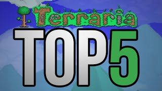 Top 5 Rarest  tems  n Terraria   The Rarest  tems  n The Game Terraria 1.2.4.1 Update