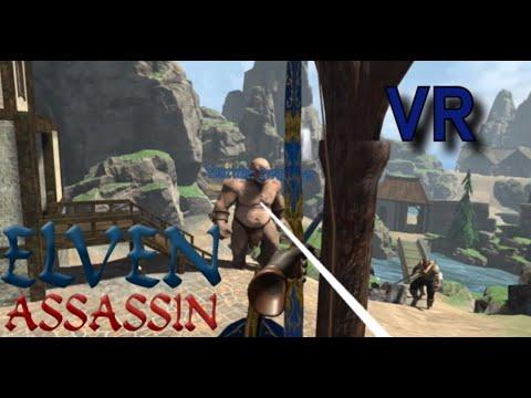 ELVEN ASSASSIN online multiplayer, 2maps & a dragon / HTC VIVE VR  [1080p/60fps]