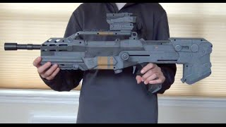 overview halo battle rifle nerf replica modified nerf longshot