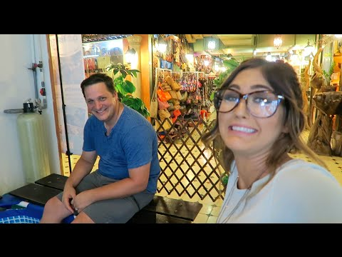 Fish Pedicure in China Town! | Paige Danielle