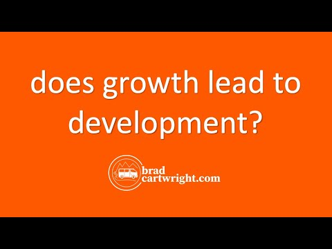 Economic Development Series: Does Growth Equal Development?